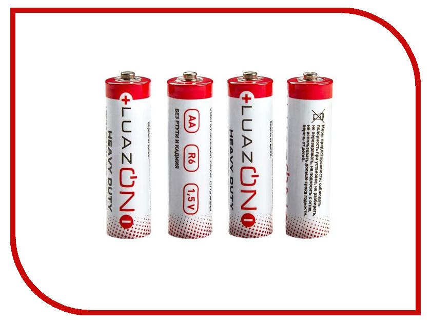 Батарейка AA - Luazon Heavy Duty LR03 (4 штуки) 1740935 1pcs lot battery holder box case 3x aa 4 5v with switch