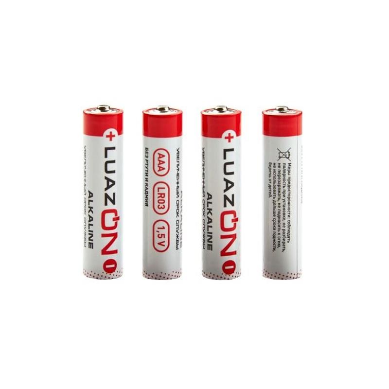 Батарейка AAA - Luazon LR03 (4 штуки) 1647488