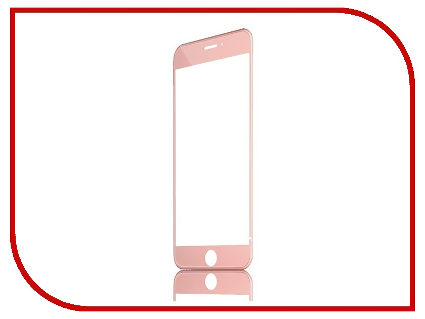 Аксессуар Защитное стекло Activ 3D Rose Gold для APPLE iPhone 6 69549 аксессуар защитное стекло activ 3d red для apple iphone 7 plus 69759