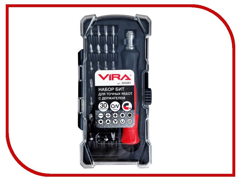 Отвертка Vira 305081 отвертка vira 305081