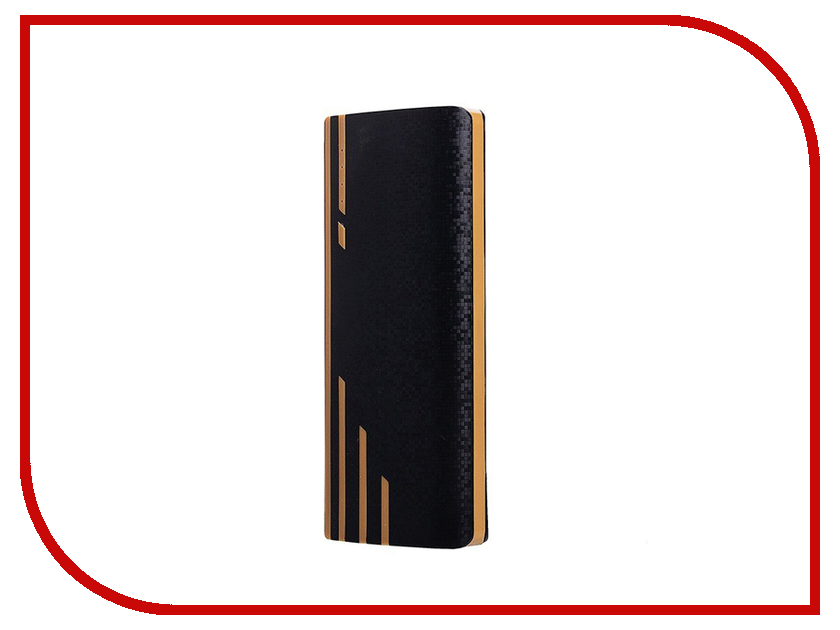 Аккумулятор Activ PB10-04 10000mAh Carbon Black-Gold 65598