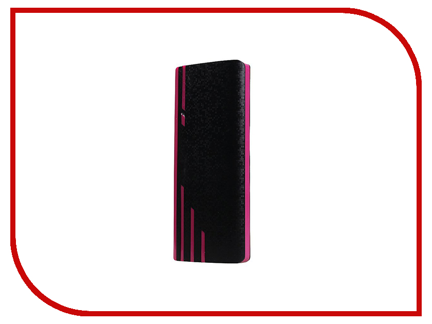 Аккумулятор Activ PB10-04 10000mAh Carbon Black-Purple 65597