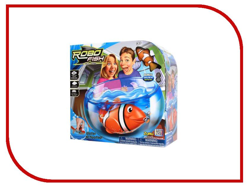 Игрушка Zuru Robofish Клоун с аквариумом Yellow 2502 интерактивная игрушка zuru клоун с аквариумом 2502 от 3 лет жёлтый 2502
