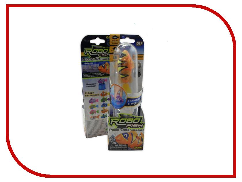 Игрушка Zuru Robofish Бычок Orange 2549-5 авто бычок термо бутка
