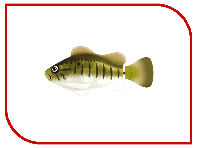 Игрушка Zuru Robofish Окунь 2532O zuru роборыбка клоун желтая robofish