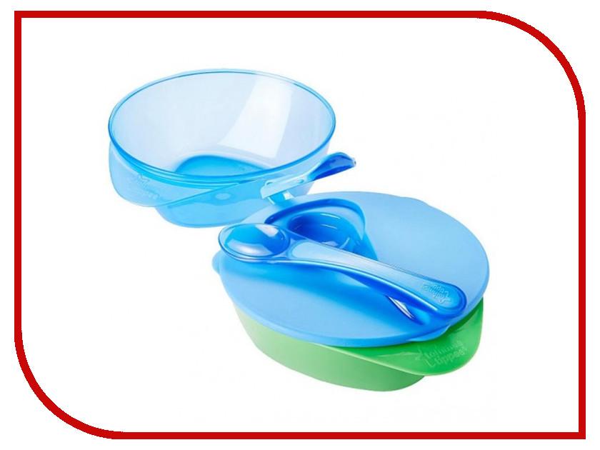 Набор глубоких тарелочек Tommee Tippee (2шт) Blue 44671841-2 набор для новорожденных tommee tippee