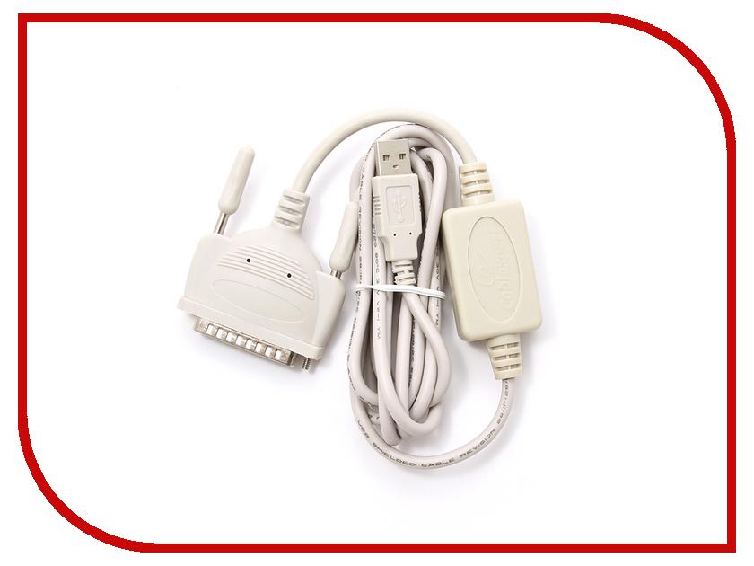 Аксессуар Gembird USB - DB25M RS-232 UAS112