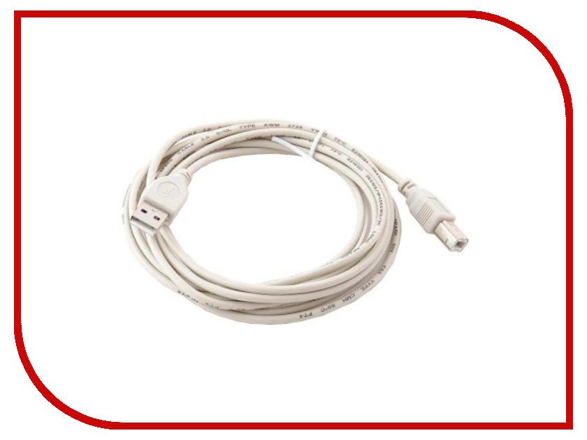 Аксессуар Gembird USB AM - USB BM 4.5m CC-USB2-AMBM-15 аксессуар gembird ee2 u3s 2 r usb 3 0 red