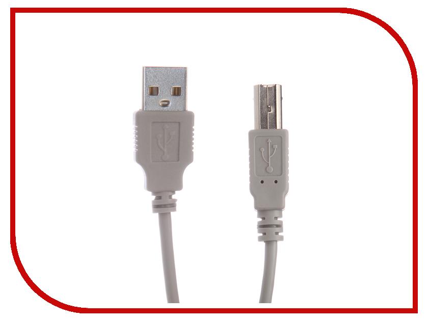 Аксессуар Gembird USB AM - USB BM 3m CC-USB2-AMBM-10 аксессуар gembird ee2 u3s 2 r usb 3 0 red