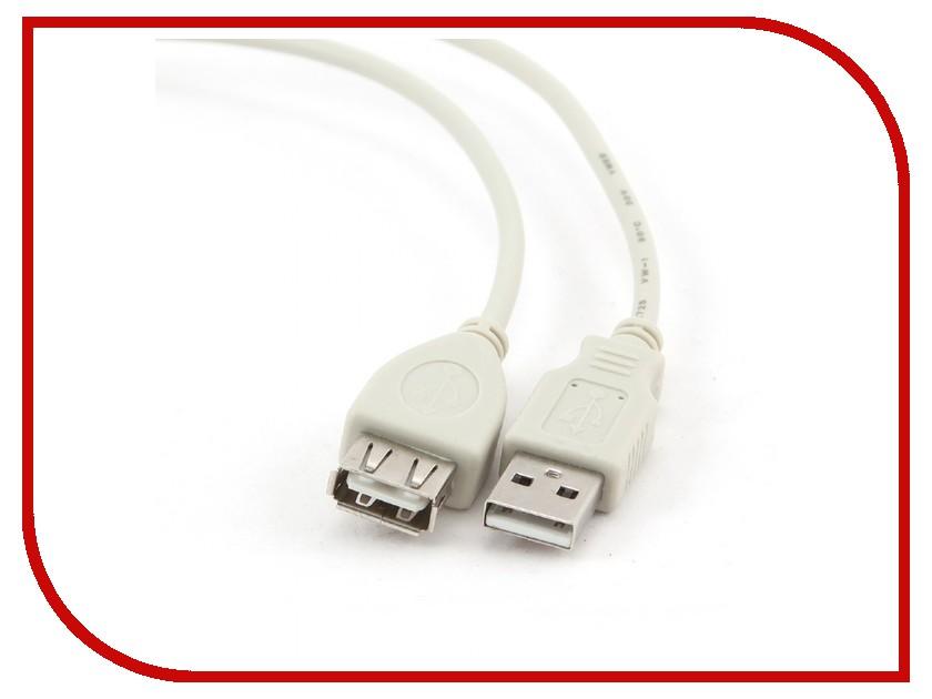 Аксессуар Gembird USB 2.0 AM/AF 75cm CC-USB2-AMAF-75CM/300