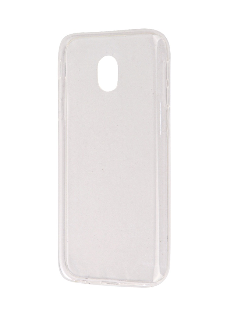 Аксессуар Чехол-накладка SkinBox для Samsung Galaxy J3 2017 Slim Silicone Transparent T-S-SGJ32017-005
