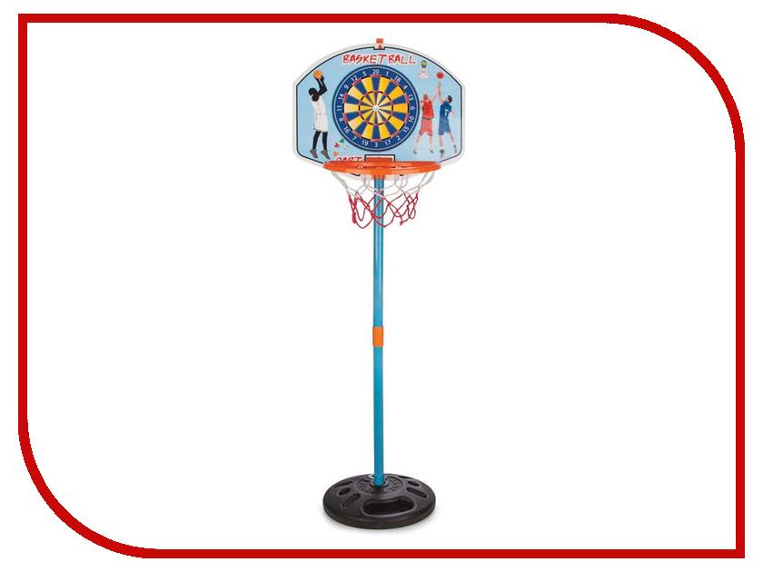 Игрушка Pilsan Баскетбольное кольцо на стойке + дартс 3394plsn баскетбольное кольцо pilsan с мишенью для игры в дартс