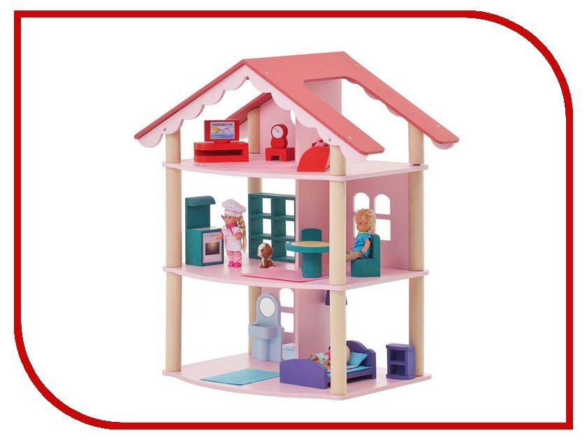 Игра Paremo Трехэтажный домик для куклы Роза Хутор PD215 хутор купить в калининграде продажа