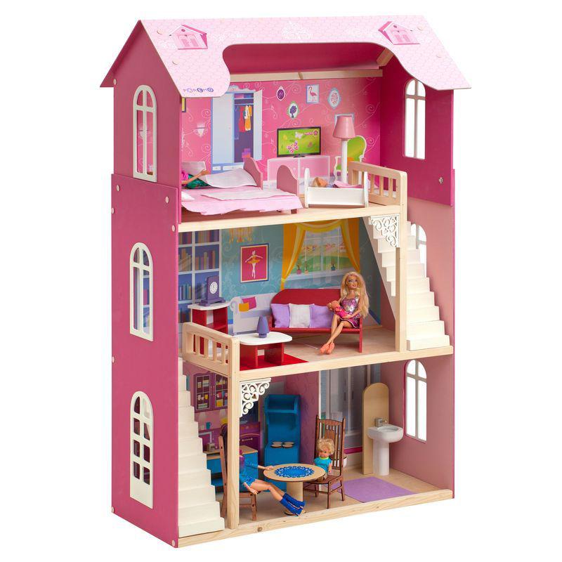 Кукольный домик Paremo для Барби Вдохновение PD315 кукольный домик для барби kidkraft саванна 65023 ke