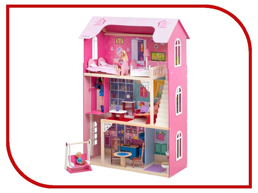 Игра Paremo Кукольный домик для Барби Муза PD315-01 кукольный домик из картона четыре комнаты картонный папа