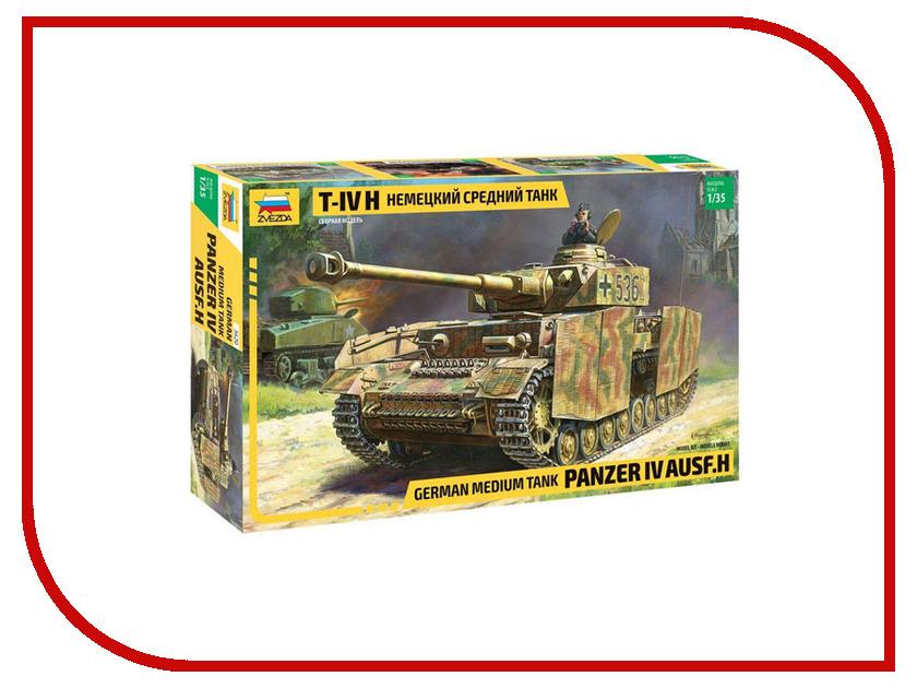 Сборная модель Zvezda Немецкий средний танк T-IV 3620 танк звезда матильда ii британский средний 1 100 6171