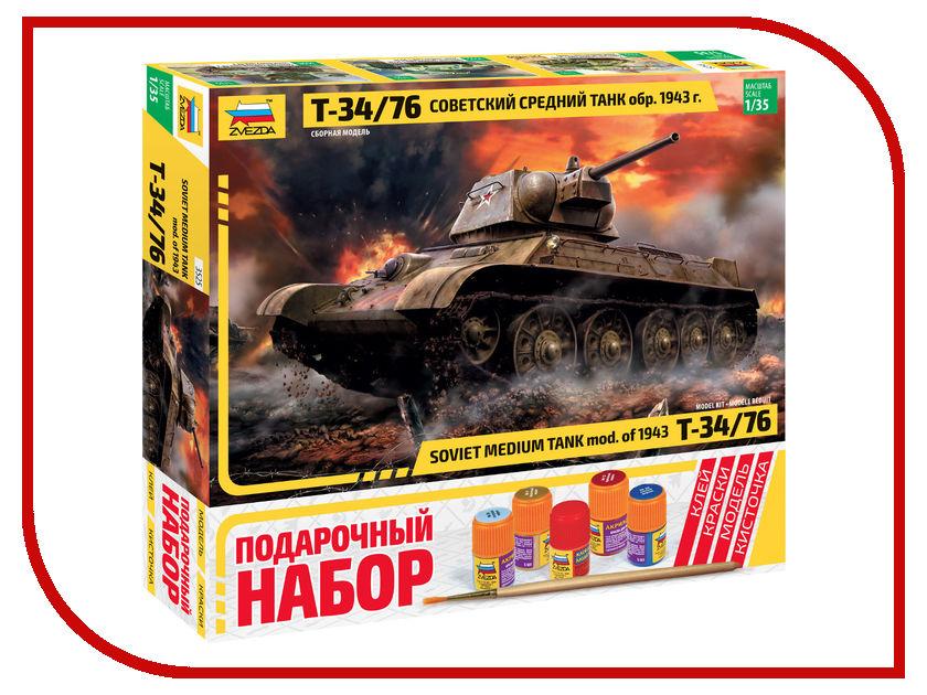 Сборная модель Zvezda Советский танк Т-34/76 3525П