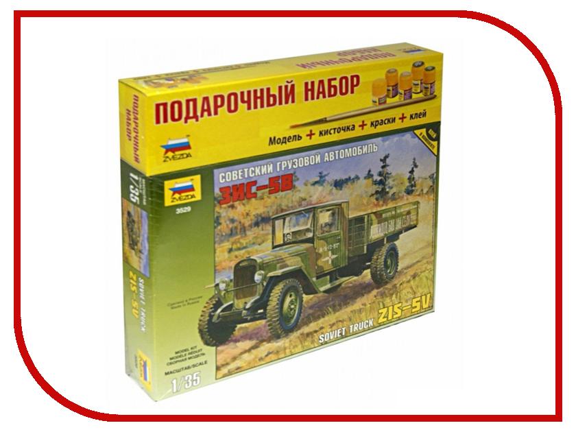 Сборная модель Zvezda Грузовик ЗиС-5 3529П сборная модель zvezda советский трёхосный грузовик газ ааа 3547