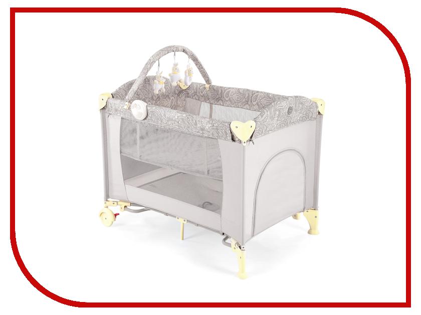 Манеж-кровать Happy Baby Lagoon V2 Beige 4690624017643