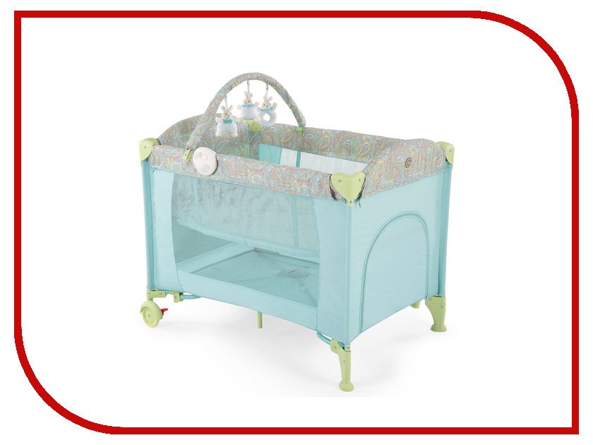 Манеж-кровать Happy Baby Lagoon V2 Light Blue 4690624017650 автокресло happy baby skyler v2 black 4690624020872