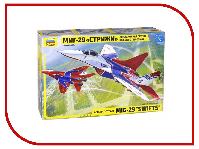 Сборная модель Zvezda Самолет МИГ-29 авиа группа Стрижи 7310 купить авиа билет братск москва