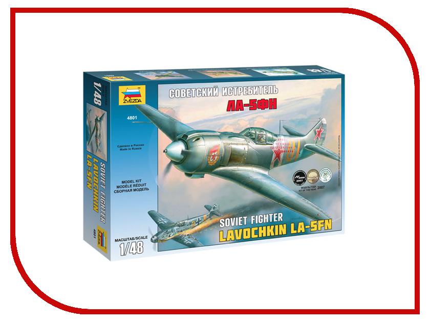 Сборная модель Zvezda Самолет Ла-5ФН 4801 бюсси м самолет без нее