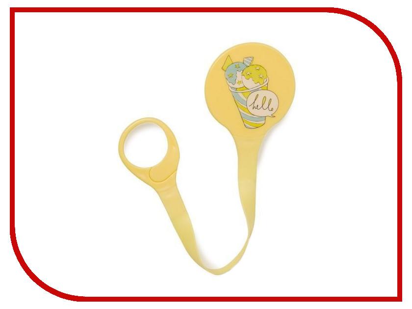 Держатель для пустышки Happy Baby Pacifier Holder Yellow 11007