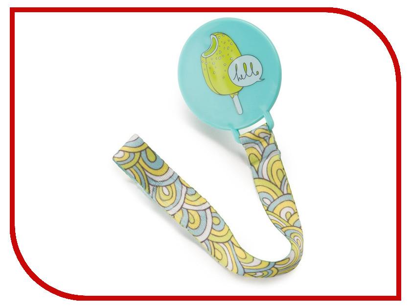 Держатель для пустышки Happy Baby 11011 Pacifier Holder Light Blue 4650069783213 детское автокресло happy baby skyler blue