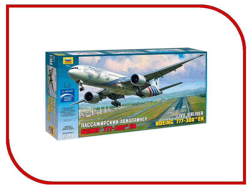 цена на Сборная модель Zvezda Самолёт Боинг 777 7012