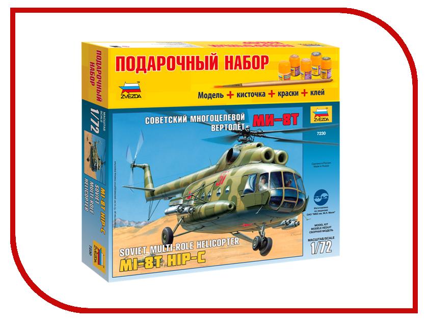 Сборная модель Zvezda Вертолет Ми-8 7230П