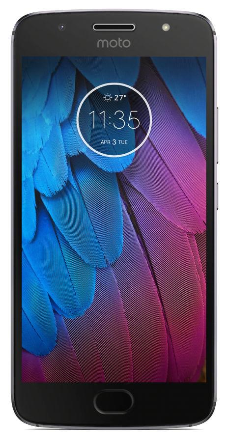 Сотовый телефон Motorola Moto G5s 32Gb XT1794 Grey сотовый телефон motorola moto e4 xt1762 iron grey
