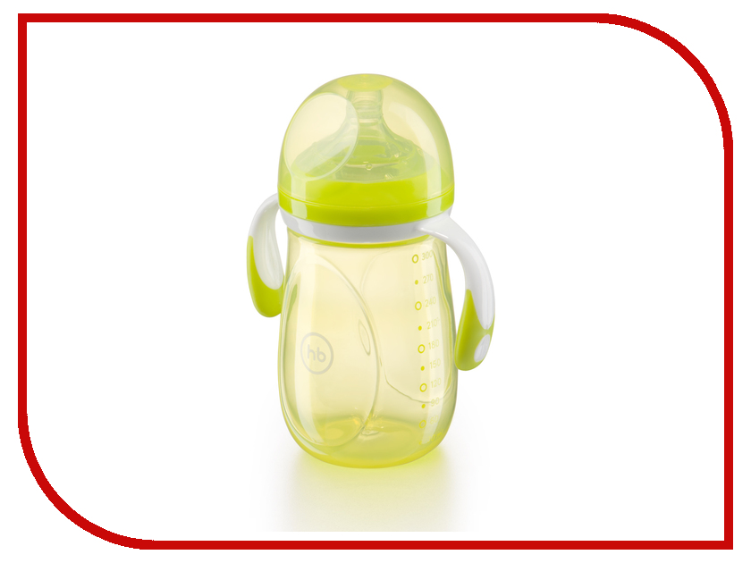 Бутылочка Happy Baby 300ml Lime 10009 4650069781684