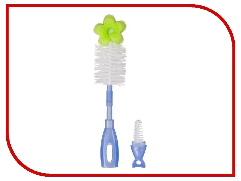 Ёршик для бутылочек Happy Baby Double Clean Lilac 11004