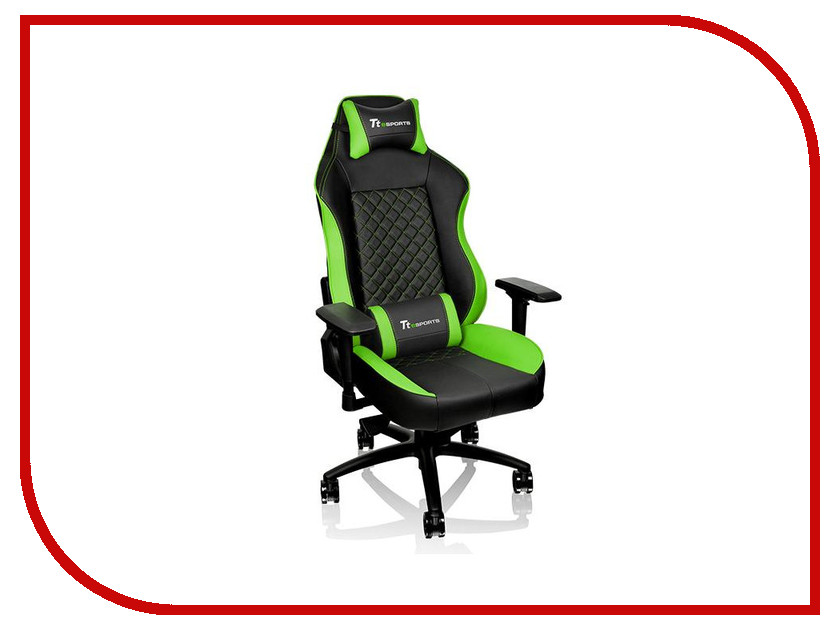 Компьютерное кресло Tt eSports GT Comfort GTC 500 Black-Green GC-GTC-BGLFDL-01