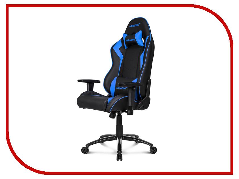Компьютерное кресло AKRacing Octane Black-Blue AK-OCTANE-BL