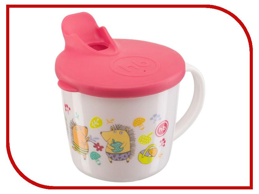 Тренировочная кружка с крышкой Happy Baby Training Cup Red 15010