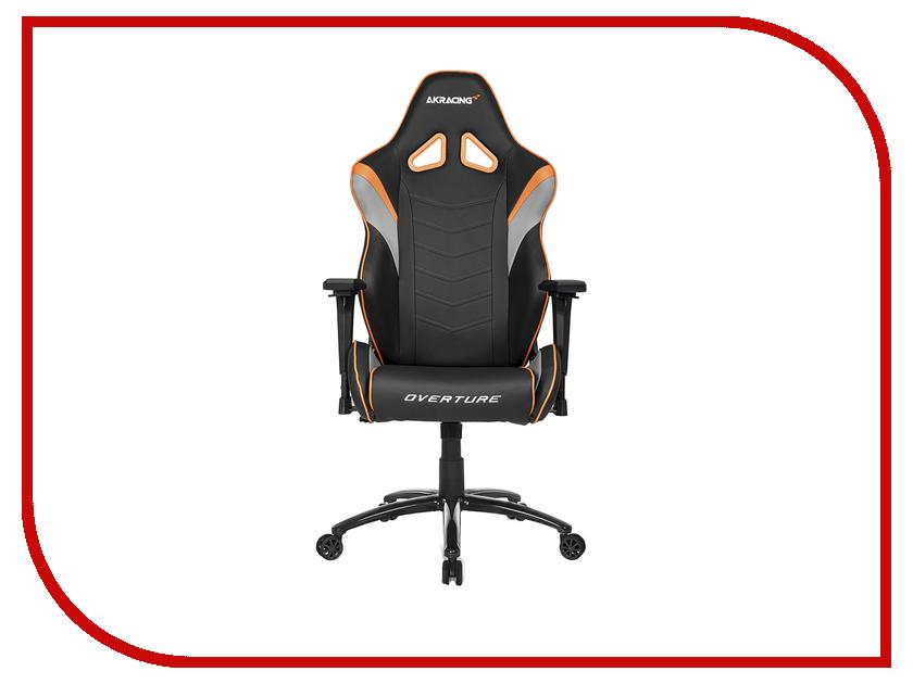 Компьютерное кресло AKRacing Overture Black-Orange