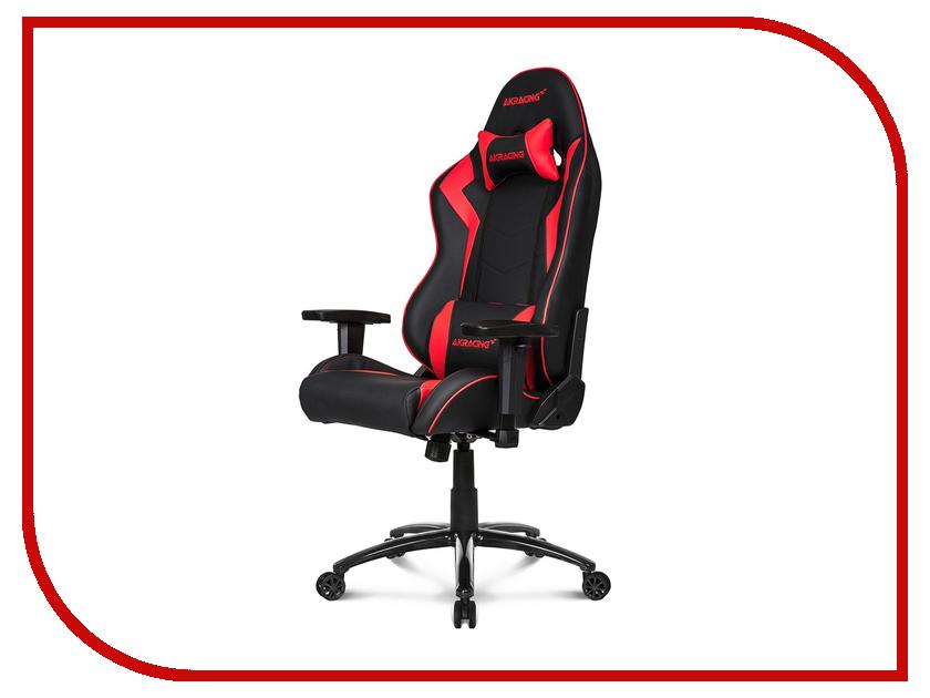 Компьютерное кресло AKRacing Overture Black-Red купить кресло компьютерное в луганске