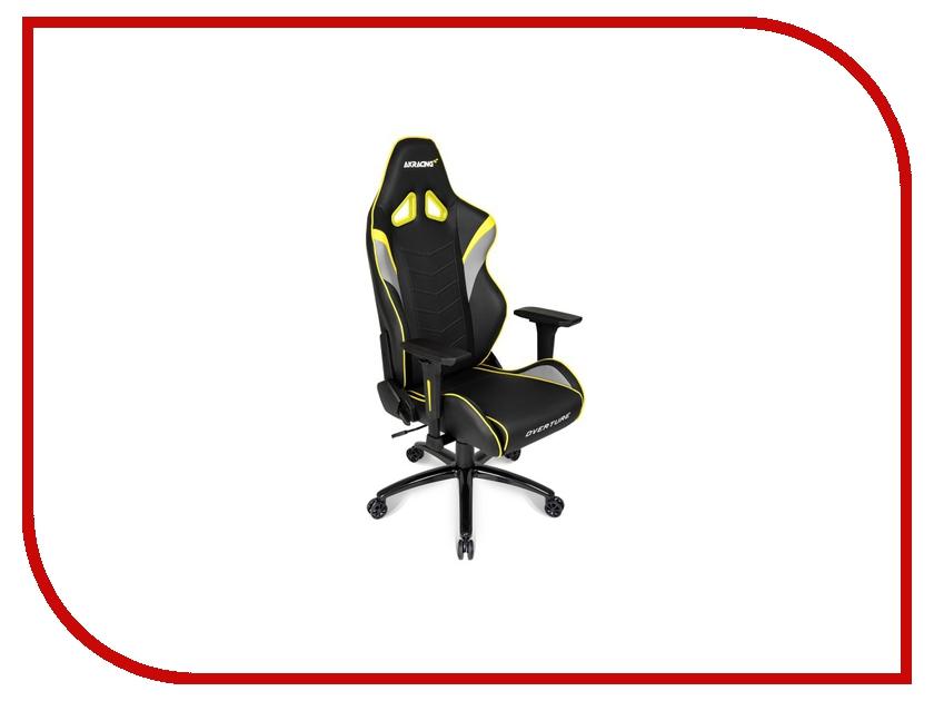 Компьютерное кресло AKRacing Overture Black-Yellow