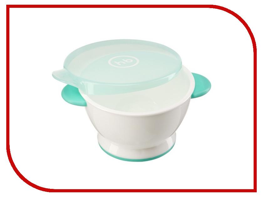 Тарелка с крышкой Happy Baby 15024 Mint