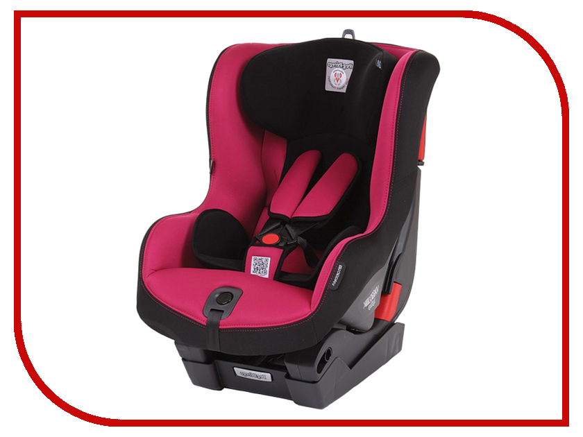 Автокресло Peg-Perego Viaggio Duo-Fix K Fleur группа 1 Black Fuchsia 90100260778 автокресло peg perego viaggio duo fix к sand бежевый