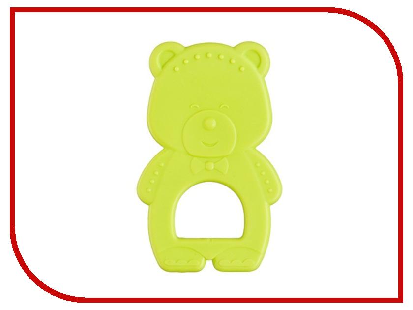 Игрушка Happy Baby Teether Bear Lime 20005 4650069780878 бутылочка happy baby 180ml lime 10011 4650069781721