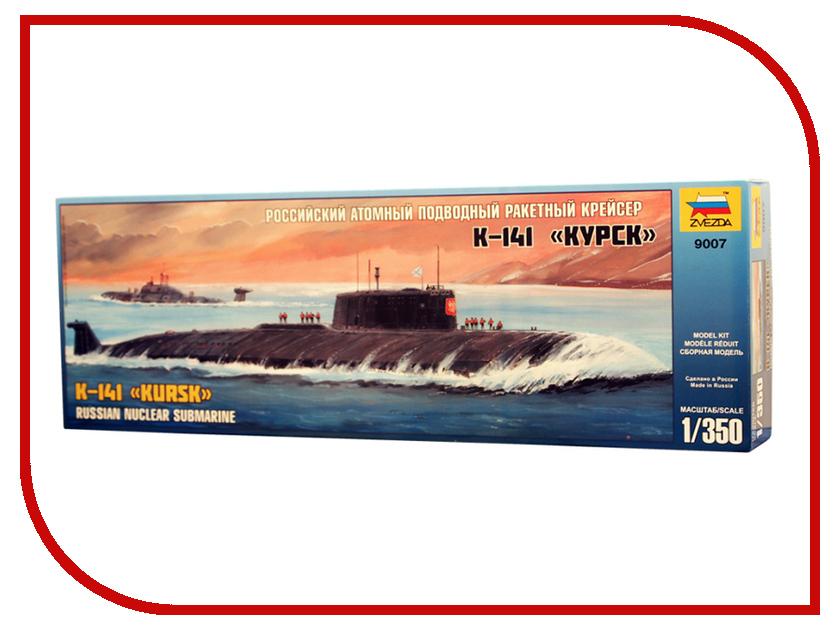 Сборная модель Zvezda Российская АПЛ Курск 9007