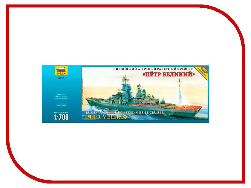 Сборная модель Zvezda Крейсер Петр Великий 9017 сборная модель моделист крейсер омск пн170074