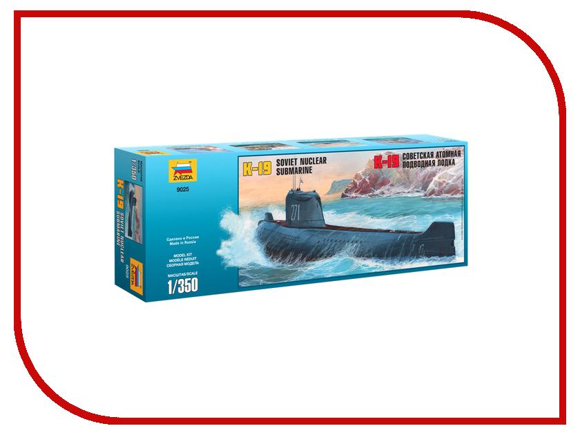 Сборная модель Zvezda Подводная лодка К-19 9025 игрушка водная душ подводная лодка и кит yookidoo