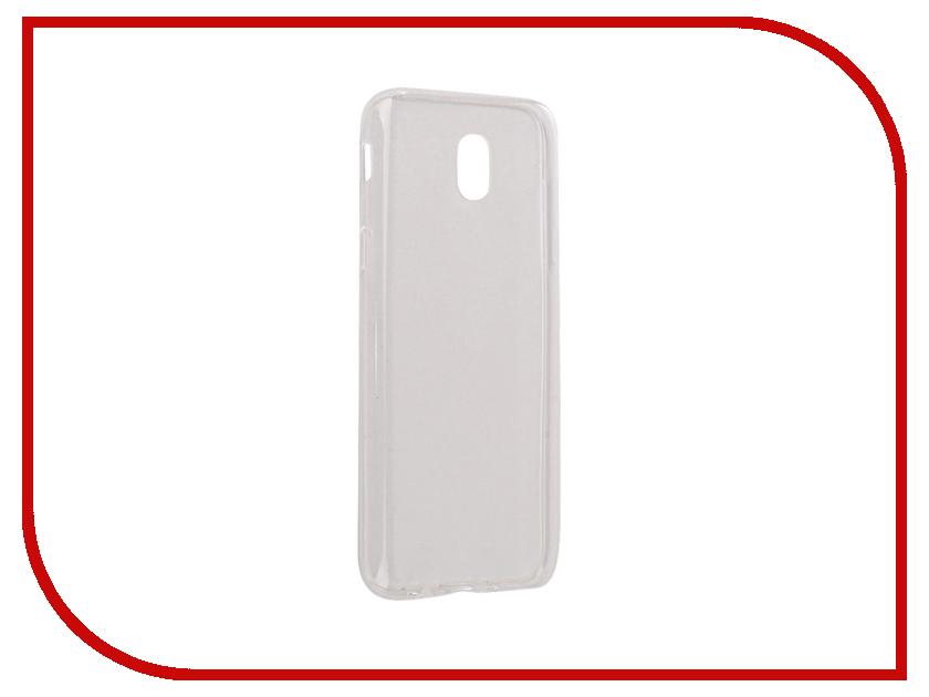 Аксессуар Чехол-накладка Samsung Galaxy J5 2017 SkinBox Slim Silicone Transparent T-S-SGJ52017-005 skinbox slim silicone чехол для samsung galaxy a3 2016 transparent