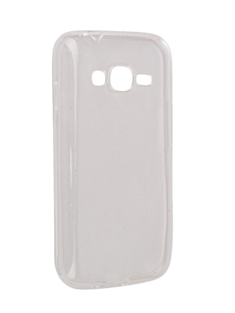 Аксессуар Чехол-накладка SkinBox для Samsung Galaxy J106 J1 mini Prime Slim Silicone 4People Transparent T-S-SGJ106-006 цена и фото