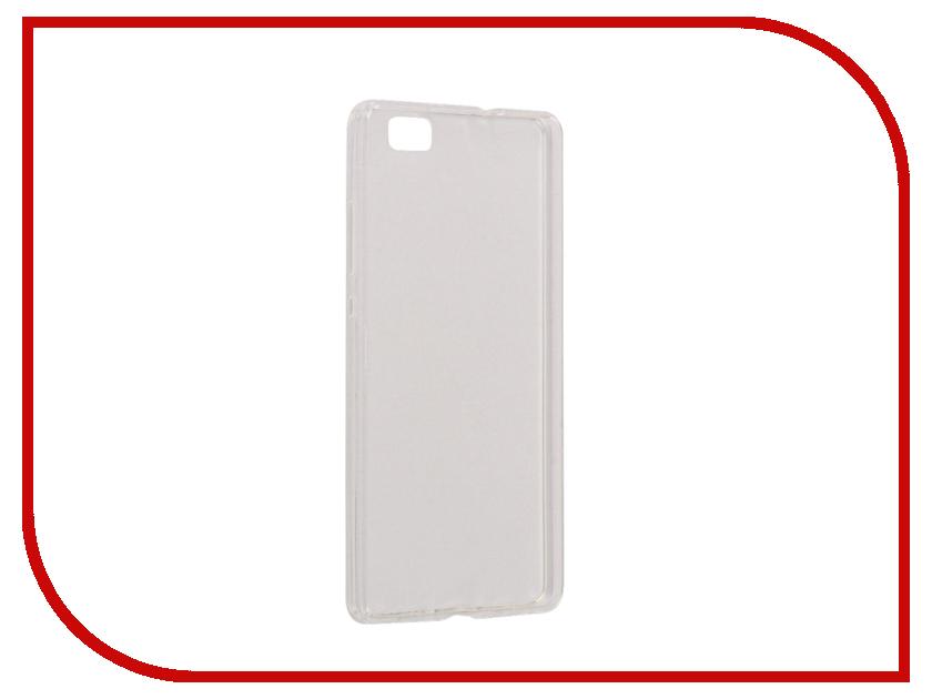 Аксессуар Чехол-Накладка Huawei Honor 8 Lite SkinBox Slim Silicone Transparent T-S-HH8L-006 чехлы для телефонов skinbox huawei honor 6 plus skinbox lux