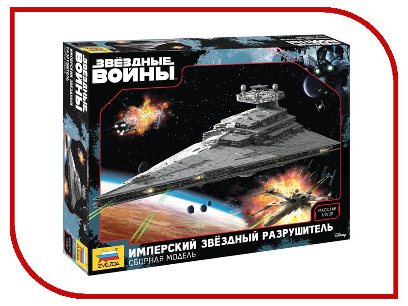 Сборная модель Zvezda Имперский звездный разрушитель Star Wars 9057