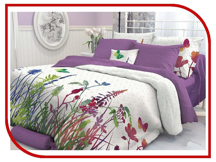 Постельное белье Verossa Комплект 2 спальный Перкаль Purple 707005 постельное белье альба перкаль 2 спальный